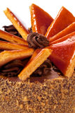 Torte ungherese di Dobos - torta immagini stock