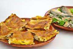 Torte von Galizien Spanien Stockfoto