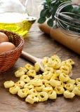 Tortelini - Italian raw pasta Stock Images
