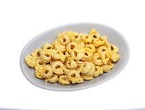 Tortelini on plate Royalty Free Stock Image