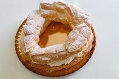 Tortell, typical catalan sweet cake Royalty Free Stock Image