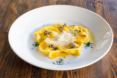 Tortelli Pasta Royalty Free Stock Images