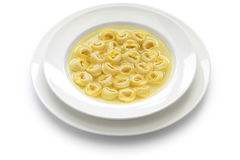 Tortellini in brodo, italian cuisine Royalty Free Stock Images