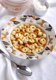 Tortellini in broth Stock Photos