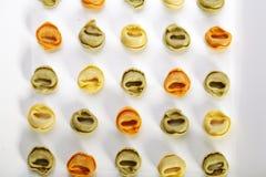 Tortellini da massa Imagens de Stock