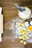 Tortellini del formaggio quattro Fotografie Stock Libere da Diritti