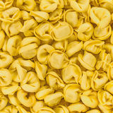 Tortellini emiliani italian macaroni pasta stuffed background texture Royalty Free Stock Image