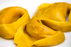 Tortellini Italiaanse deegwaren stock foto