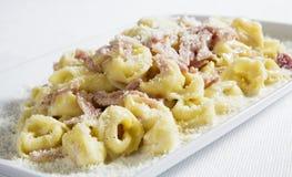 Tortellini italiani Fotografie Stock Libere da Diritti