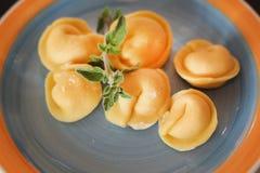 Tortellini italiani Immagine Stock
