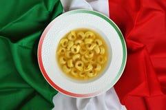Tortellini italiano Fotografía de archivo libre de regalías