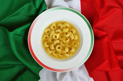 Tortellini italiano Fotografia de Stock Royalty Free