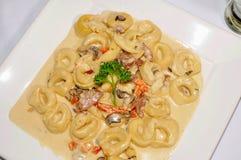 Tortellini pasta Stock Images