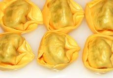 Tortellini - pasta italiana Fotografia Stock Libera da Diritti