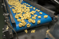 Tortellini Pasta production line Stock Images