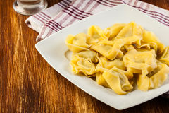 Tortellini shells Royalty Free Stock Images