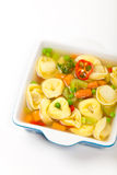 Tortellini soup Royalty Free Stock Photo