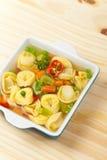 Tortellini soup Royalty Free Stock Photos