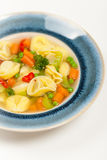 Tortellini soup Stock Photography