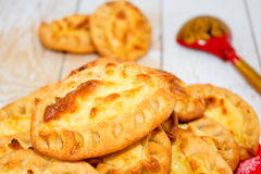 Torten, gebacken mit Kartoffeln lizenzfreies stockbild