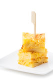 Tortiglia de patatas fotografie stock