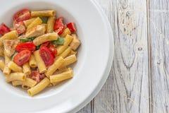 Tortiglioni Pasta Royalty Free Stock Photos