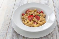 Tortiglioni Pasta Royalty Free Stock Photography