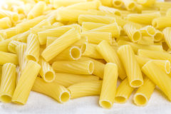 Tortiglioni pasta uncooked Royalty Free Stock Photography