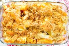 Free Tortiglioni ( Twisted Spiral Maccheroni) Baked Pasta Mozzarella Royalty Free Stock Photos - 64930298