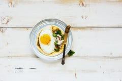 Tortilha com ovo frito fotos de stock royalty free