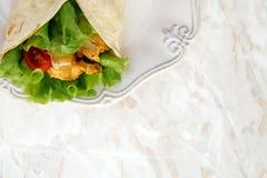 Tortilha deliciosa Imagens de Stock Royalty Free