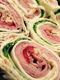 Tortilhas italianas envolvidas Imagens de Stock