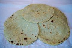 Tortilhas saudáveis do cacto fotografia de stock
