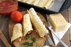 Tortilla περικαλύμματα Στοκ φωτογραφίες με δικαίωμα ελεύθερης χρήσης