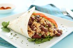 tortilla говядины пряный стоковое изображение rf