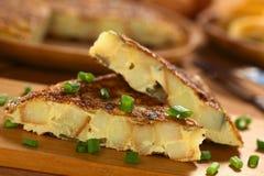 tortilla испанского языка омлета стоковые фотографии rf