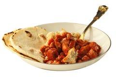 tortilla красного цвета posole свинины Чили домодельный Стоковые Изображения RF