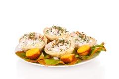tortilla салатов плиты Стоковая Фотография