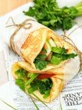 Tortilla сыра Стоковые Изображения