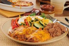 tortilla цыпленка casserole Стоковая Фотография RF