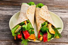 Tortilla Stock Photography