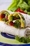Tortilla Royalty-vrije Stock Afbeeldingen