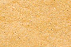 Tortilla Chip. Close-up detail texture of a corn tortilla chip Stock Photography