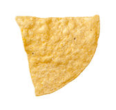 Tortilla Chip Isolated Arkivfoton