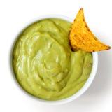 Tortilla-Chip und Bad Stockfotografie