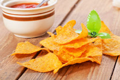 Tortilla chips Royalty Free Stock Image