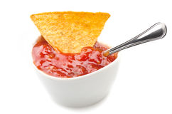 Tortilla chips Stock Photo