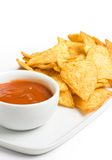 Tortilla chips stock photo