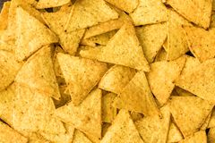 Tortilla Chips Background Stock Photos