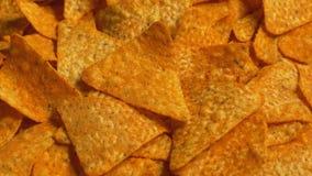 Tortilla Chips Rotatingwn View lager videofilmer